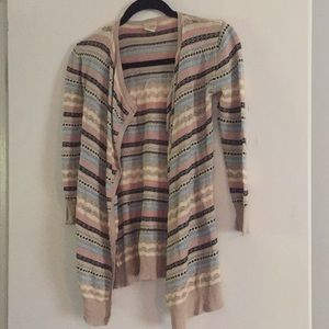 DAYTRIP open front cardigan.